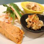 中華ダイニングザイロン - ランチの前菜