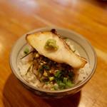 二代目 白神 - 鯛オンザ洗い飯