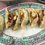 味の丸嘉 - 料理写真:味の丸嘉(餃子(肉)定食)