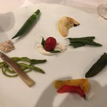 リストランテ モン - リストランテMON(グリルした夏野菜)
