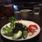 69278802 - サラダのビュッフェより取ったお野菜&スープ。