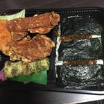 日本亭 - 料理写真:この唐揚げのデカさ、お分かりいただけただろうか?