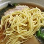 代々木 火の国 - 中華そばの麺ですw