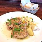 ペ・ドゥ・ノンヌウ - 料理写真:Bランチ / 本日のお肉料理(日向鶏の香草パン粉焼き)