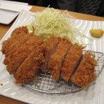 はせ川 - ひれかつ(180g)1800円