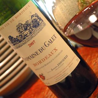 煮こみや なりた - ドリンク写真:Bordeaux Domaine du Galet 2007