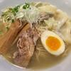 めんや 正明 - 料理写真:海老ワンタン麺 鶏そば 塩(950円)
