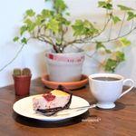煎りたて ハマ珈琲 - 料理写真:ブラジル・プレミアムショコラ、いちご薫る濃厚チーズタルト