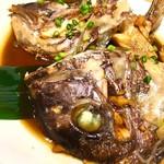鯛めし魚然 - 鯛かぶと煮