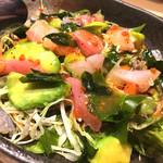鯛めし魚然 - 海鮮サラダ