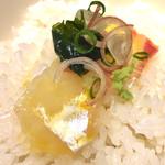鯛めし魚然 - 鯛めしオンザライス