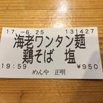 69280669 - 食券