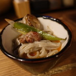 炭と蕎麦と酒 今なら - ☆河内鴨もも肉も弾力が素敵!(^^)!☆