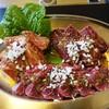 焼肉無印 - 料理写真:牛肉3種盛り210g 2,160円 厳選カルビ、赤身ロース、厳選ハラミ