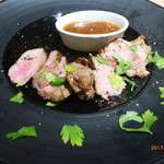 69281577 - ラム肉のステーキ