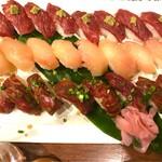 69282538 - 肉寿司