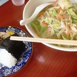 緑亭 - ちゃんぽん定食