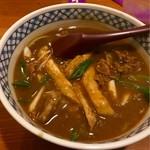 香川 - カレーうどん  出汁が効いてます♪
