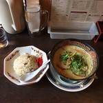ぽっぽや - やきめし定食 カレーラーメンに変更 ¥1000