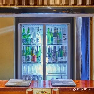 日本酒とワインを中心に、串揚げとの相性を考えてチョイス