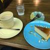 ウインピー - 料理写真:ココアとチーズケーキ