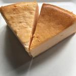カフェ百時 - ニューヨークチーズケーキとカマンベールチーズケーキ(2017.06現在)