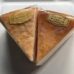 カフェ百時 - どちらもしっとりと美味しいチーズケーキ