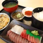 海人食堂 - 日替わり刺身定食