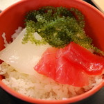海人食堂 - ミニ海鮮丼