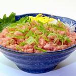 鮮宴丼ひろし - ミニ・ねぎトロ丼
