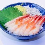 鮮宴丼ひろし - 甘えび丼