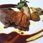 レ・セレブリテ - 鴨肉のグリエ