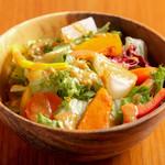 舎人庵 - 高原野菜サラダ ¥680