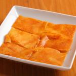 舎人庵 - チーズチヂミ ¥700