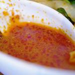 刀削麺 張家 - スープ