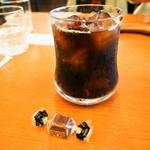 森のくじら - アイスコーヒー & チョコレート