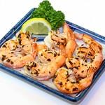 鮮宴丼ひろし - 旨み海老の丸ごと塩焼き
