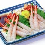 鮮宴丼ひろし - 甘えびのお刺身