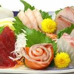 鮮宴丼ひろし - 刺身盛合せ(上)