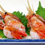 鮮宴丼ひろし - ぼたん海老のお刺身