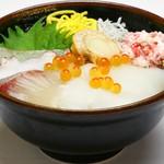 鮮宴丼ひろし - 白ネタ丼
