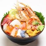 鮮宴丼ひろし - 濃厚ぼたん・15種丼