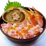 鮮宴丼ひろし - こだわりの蟹丼