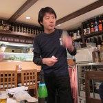 神田有薫 - オーナー高山幸一郎氏 赤坂有薫は父ちゃんです
