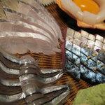 神田有薫 - 玄海さば、太刀魚、きびなご