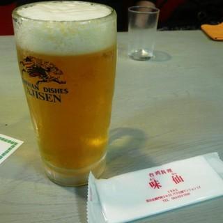 味仙 - ドリンク写真:生ビール