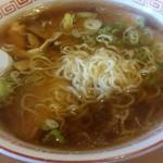炉ばた番屋 - 料理写真:細麺。