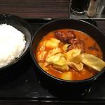 CoCo壱番屋 - スープで食べるローストチキンと野菜のカレー890円