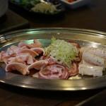 塩ホルモン 炭楽 - 料理写真:コリコリ3兄弟