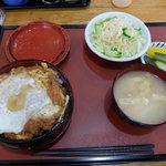 ふじみや - かつ重(800円)